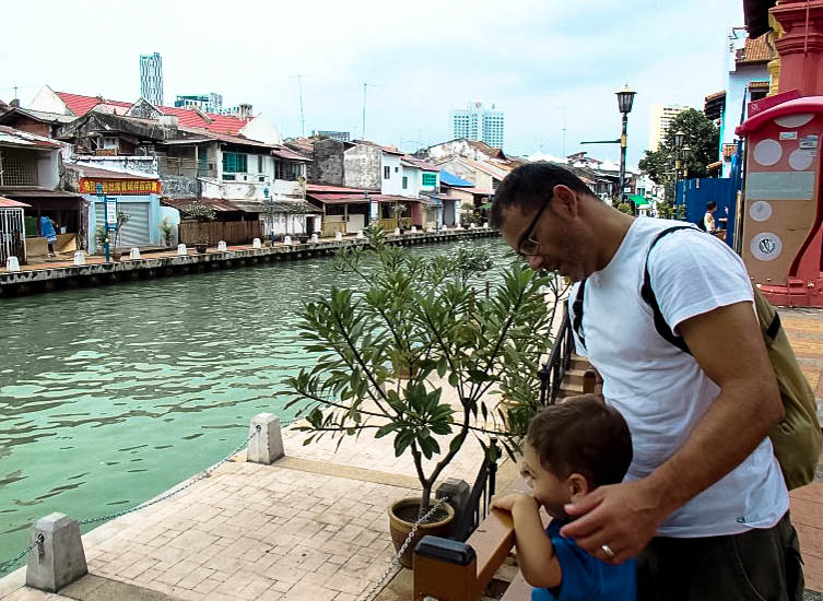Kuala Lumpur com crianças