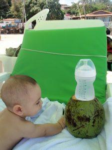 Brasil com bebé
