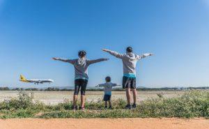 mitos sobre viajar com crianças