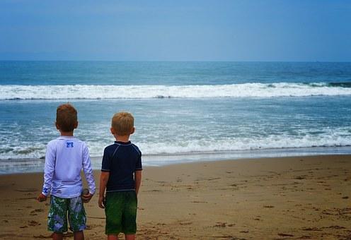 viajar com filhos