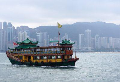 Hong Kong com crianças