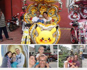 viagens com crianças