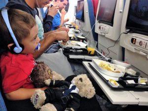 impacto das viagens nas crianças