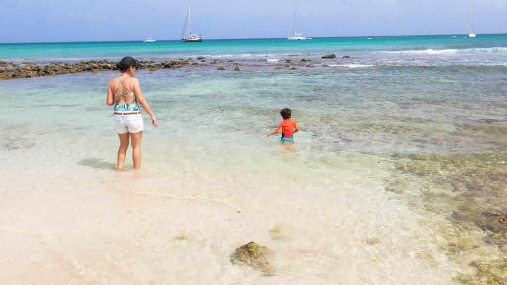ilha do sal com crianças
