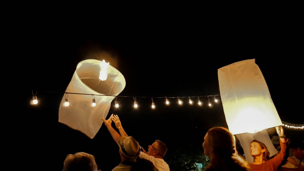 festival lanternas Chiang Mai