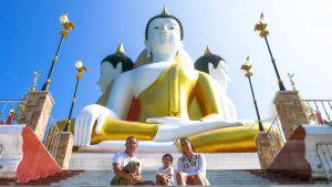 viagem à tailândia com crianças